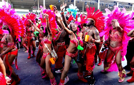 Largest Carnival in the Caribbean